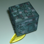 1993  Micro Machines Star Trek Borg cube 1994 @sold@